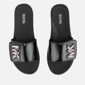 MICHAEL MICHAEL KORS Women's MK Slide Sandals - Black
