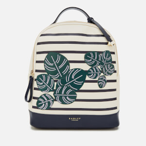Radley Women's Be-Leaf In Yourself Medium Backpack Flapover - Chalk