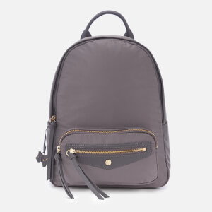 Radley Women's Merchant Hall Medium Backpack Zip Top Bag - Charcoal
