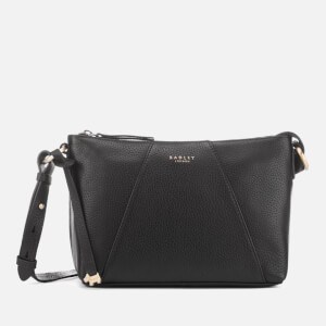 Radley Women's Wood Street Medium Zip Top Cross Body Bag - Black
