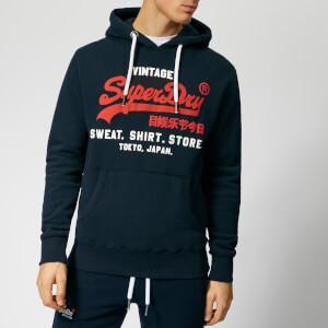 808c24664a0c8 Superdry Men s Sweatshirt Shop Duo Hoody - Eclipse Navy