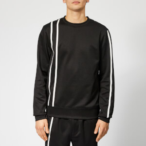 Helmut Lang Men's Sport Stripe Sweatshirt - Black/White