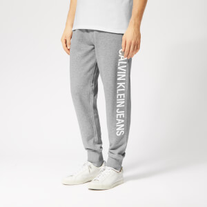 Calvin Klein Jeans Men's Institutional Side Logo Jog Pants - Grey Heather