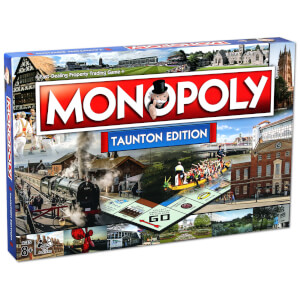 Monopoly Board Game - Taunton Edition