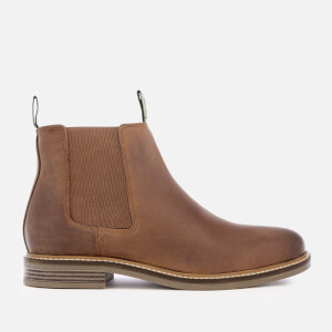 Barbour Men's Farsley Leather Chelsea Boots - Dark Tan