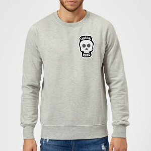 Skull Current Mood Sweatshirt - Grey