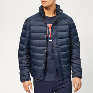 Tommy Jeans Men's Essential Puffa Jacket - Black Iris