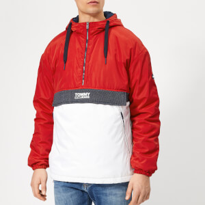Tommy Jeans Men's Colorblock Popover Hoody - Samba