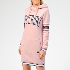 Superdry Women's Beccy Sweatshirt Dress - Dusty Pink