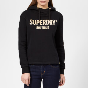 Superdry Women's Rock Bling Hoodie - Black