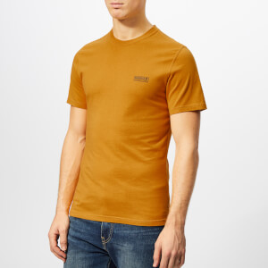 Barbour International Men's Small Logo T-Shirt - Harvest Gold