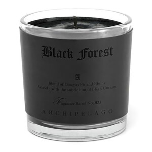 Archipelago Botanicals Letter Press Black Forest Candle 363g Exclusive