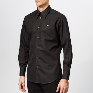 Vivienne Westwood Men's Classic Firm Poplin Shirt - Black