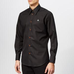 Vivienne Westwood Men's Classic Firm Poplin Shirt - Black