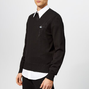 Vivienne Westwood Men's Crew Knit Jumper - Black