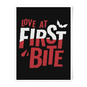 Love At First Bite Art Print