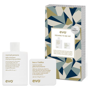 evo Square To Be Sharp - Box O' Bollox with Free Shampoo