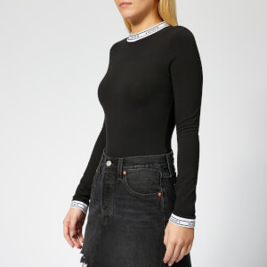 Levi's Women's Long Sleeve Bodysuit - Mineral Black