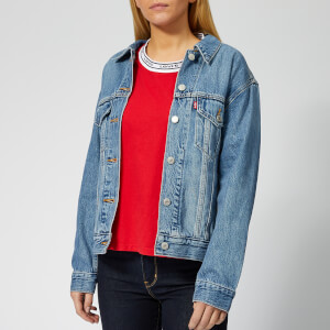 Levi's Women's Ex-Boyfriend Trucker Jacket - Soft as Butter Mid