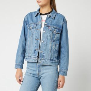 Levi's Women's Ex-Boyfriend Trucker Jacket - Soft As Butter