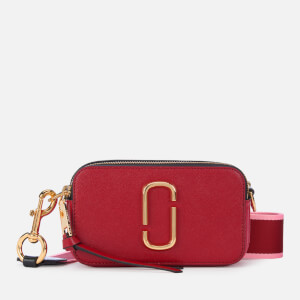 Marc Jacobs Women's Snapshot Cross Body Bag - Red Multi