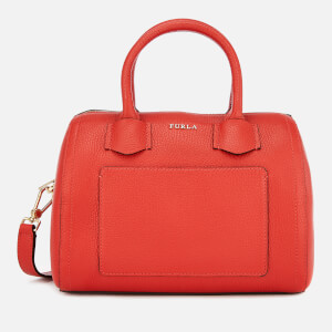 Furla Women's Furla Alba Small Satchel - Orange