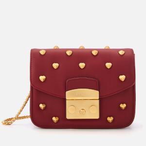 Furla Women's Metropolis Amoris Mini Cross Body Bag - Red