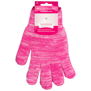 brushworks Exfoliating Gloves -kuorintakäsineet