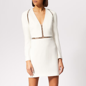 Alexander Wang Women's Long Sleeve Mini Dress - Ivory