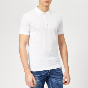 Dsquared2 Men's Classic Fit Polo Shirt - White