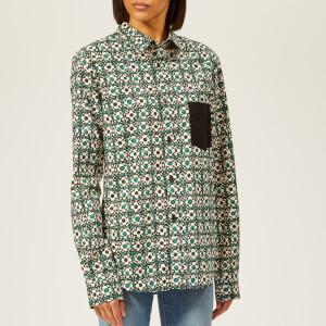 Golden Goose Deluxe Brand Women's Hilary Shirt - Green Flowers