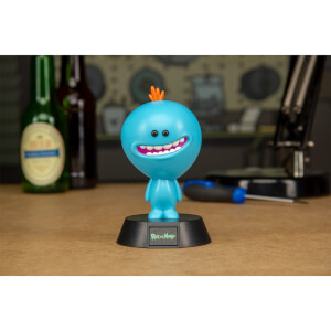 Rick and Morty Mr.-Meeseeks-Logo-Lampe