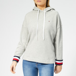 Tommy Hilfiger Women's Valina Hoodie - Light Grey Htr