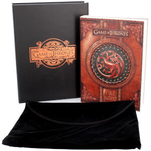 Game of Thrones - Fire and Blood Boxed Journal