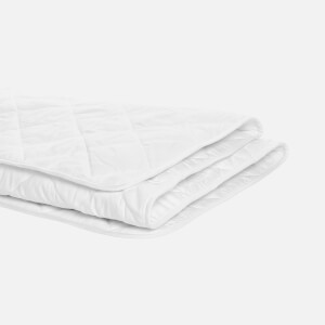 in homeware Light Cotton Duvet - White