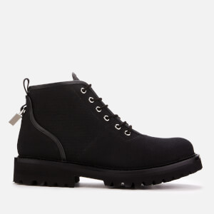 Buscemi Men's Lotta Canvas Boots - Black