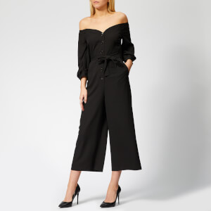Whistles Women's Carina Off Shoulder Jumpsuit - Black
