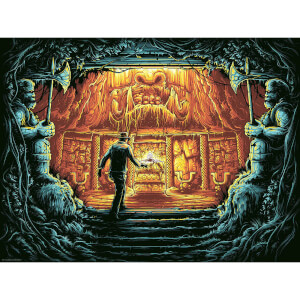 "Serigrafía Indiana Jones: en busca del arca perdida ""There is Nothing To Fear"" (Variante) - Dan Mumford"