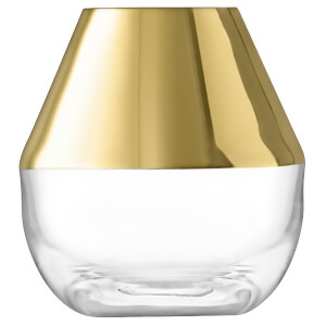 LSA Space Vase - H10cm - Gold