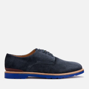 PS Paul Smith Men's Doogie Suede Derby Shoes - Dark Navy