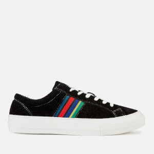 PS Paul Smith Men's Antilla Suede Low Top Trainers - Black