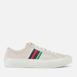 PS Paul Smith Men's Antilla Suede Low Top Trainers - Off White