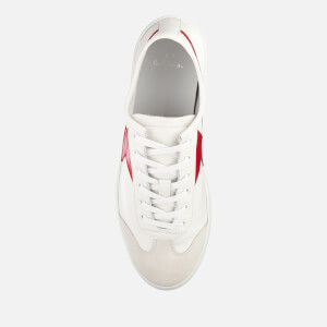 PS Paul Smith Men's Ziggy Leather Lightning Trainers - White/Red: Image 3