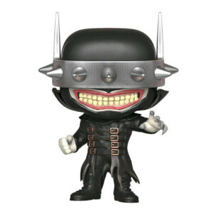 DC Comics Dark Nights: Metal - Batman che ride Figura Pop! Vinyl Esclusiva