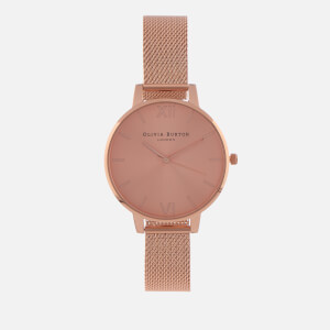 Olivia Burton Women's Sunray Dial Watch - Rose Gold