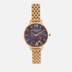 Olivia Burton Women's Semi Precious - Demi Lapis Lazuli & Gold Bracelet