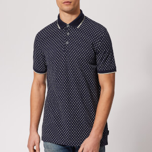 Ted Baker Men's Toff Short Sleeve Polo Shirt - Navy