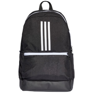 adidas BP Class 3 Stripe Backpack - Black/White