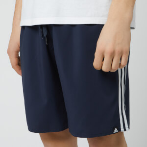 adidas Men's 3 Stripe Swim Shorts - Legend Ink