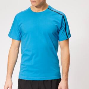 adidas Men's Z.N.E. Short Sleeve T-Shirt - Shock Cyan